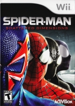 Obal-Spider-Man: Shattered Dimensions