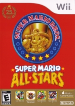 Obal-Super Mario All-Stars Wii