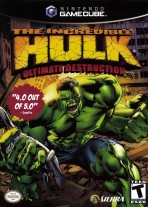 Obal-The Incredible Hulk: Ultimate Destruction