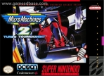 Obal-Micro Machines 2 - Turbo Tournament