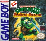 Obal-Teenage Mutant Ninja Turtles III: Radical Rescue
