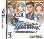 Obal-Phoenix Wright: Ace Attorney: Justice for All