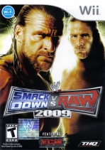 Obal-WWE SmackDown vs. Raw 2009