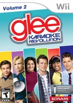 Obal-Karaoke Revolution Glee: Volume 2