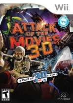 Obal-Attack of the Movies 3D