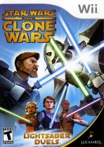 Obal-Star Wars The Clone Wars: Lightsaber Duels