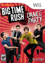 Obal-Big Time Rush: Dance Party