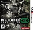 Obal-Metal Gear Solid: Snake Eater 3D