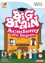 Obal-Big Brain Academy: Wii Degree