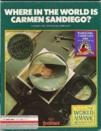 Obal-Where in the World Is Carmen Sandiego?