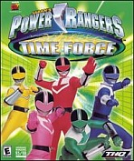 Obal-Power Rangers Time Force