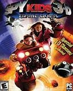 Obal-Spy Kids 3-D: Game Over