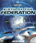 Obal-Star Trek: The Next Generation - Birth of the Federation