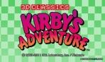 Obal-Kirby´s Adventure (3D Classics)
