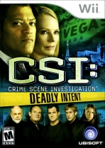 Obal-CSI Crime Scene Investigation: Deadly Intent
