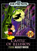 Obal-Castle of Illusion Starring Mickey Mouse