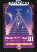 Obal-Phantasy Star III: Generations of Doom