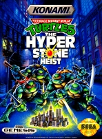 Obal-Teenage Mutant Ninja Turtles: The Hyperstone Heist