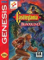 Obal-Castlevania: Bloodlines