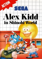 Obal-Alex Kidd in Shinobi World
