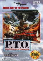 Obal-P.T.O.: Pacific Theater of Operations