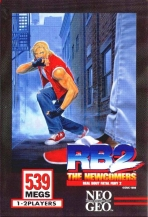 Obal-Real Bout Fatal Fury 2: The Newcomers