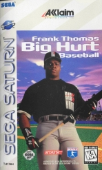 Obal-Frank Thomas Big Hurt Baseball