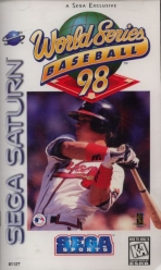 Obal-World Series Baseball 98