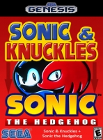 Obal-Sonic & Knuckles plus Sonic the Hedgehog