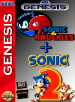 Obal-Sonic & Knuckles plus Sonic the Hedgehog 2