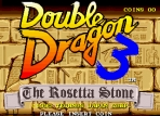 Obal-Double Dragon 3 - The Rosetta Stone