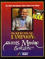 Obal-National Lampoon´s Chess Maniac 5 Billion and 1