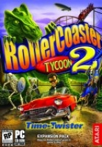 Obal-Rollercoaster Tycoon 2: Time Twister