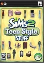 Obal-The Sims 2: Teen Stuff