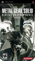 Obal-Metal Gear Solid: Digital Graphic Novel