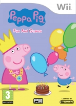 Obal-Peppa Pig: Fun and Games