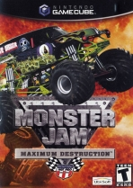 Obal-Monster Jam Maximum Destruction