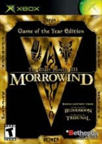 Obal-The Elder Scrolls III: Morrowind Game of the Year Edition