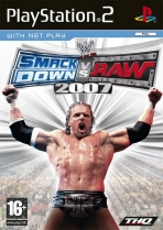 Obal-WWE Smackdown Vs Raw 2007