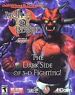 Obal-Advanced Dungeons & Dragons: Iron & Blood -- Warriors of Ravenloft