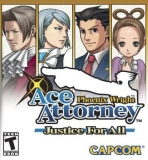Obal-Phoenix Wright: Ace Attorney - Justice For All
