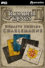 Obal-Crusader Kings II: Dynasty Shields Charlemagne