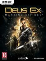 Obal-Deus Ex: Mankind Divided