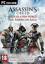 Obal-Assassin´s Creed - American Saga