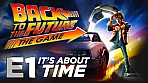 Obal-Back to the Future: The Game - Episode 1: It's About Time