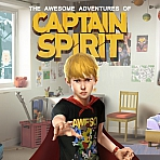 Obal-The Awesome Adventures of Captain Spirit