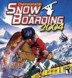Obal-Championship Snowboarding 2004