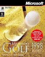 Obal-Microsoft Golf 1998 Edition