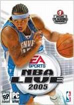 Obal-NBA Live 2005