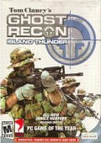 Obal-Tom Clancy´s Ghost Recon: Island Thunder